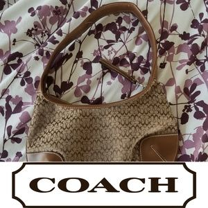Authentic Coach Purse Brown/Beige Cheap *DISCOUNT*